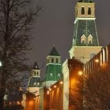 Kremlinul, vazut de partea cealalta fata de Domnul Presedinte.