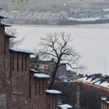 Nijnniy Novgorod - Kremlinul si centrul de peste Oka