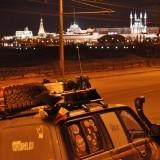 Prima imagine a Kazanului, care ne opreste le dreapta
